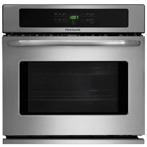 frigidaire  cleaning single electric wall oven stainless steel common   actual