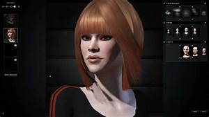 EVE ONLINE : Character creation - Female Gallente - YouTube