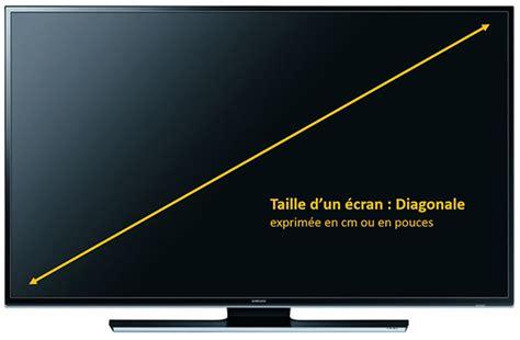 ecran 50 pouces taille ecran tv comment calculer pouce en cm