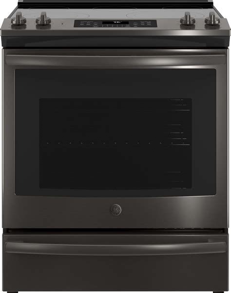 ge black stainless steel appliance package