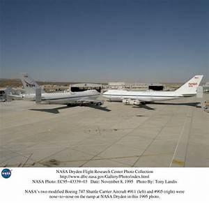 NASA Dryden Shuttle Carrier Aircraft (SCA) Photo Collection