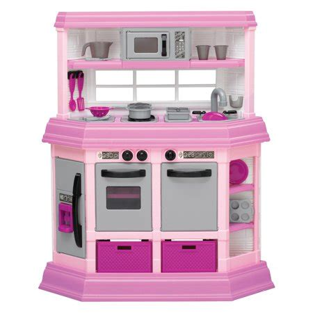 American Plastic Toys Deluxe Custom Kitchen With 22