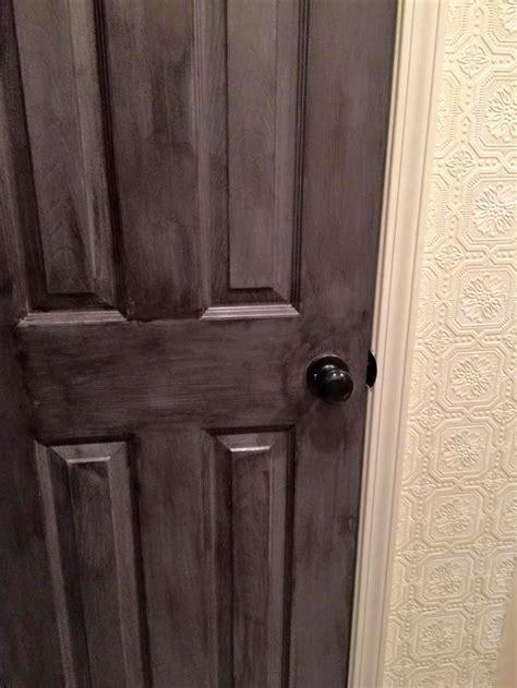 rustic barn wood door makeover general finishes design center