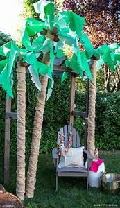 Diy, Palm, Tree, Party, Decor