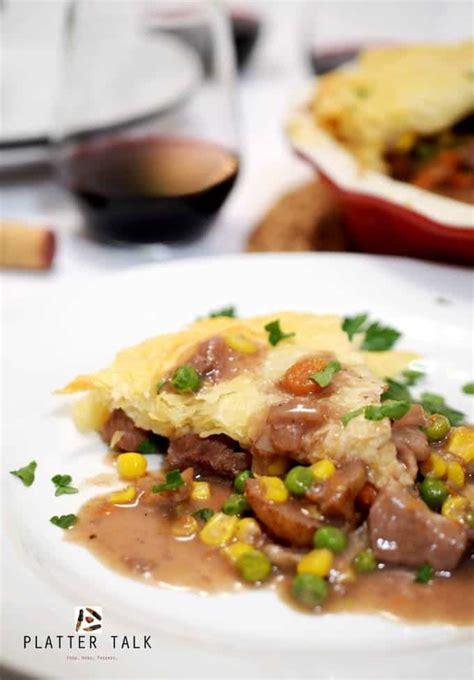 Irish prime rib pie recipe food. Leftover Prime Rib Phyllo Pot Pie -Leftover Roast Beef ...
