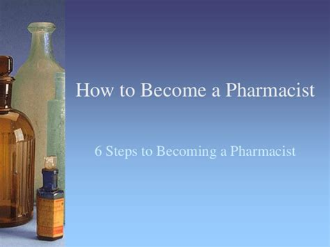 Becoming A Pharmacist by How To Become A Pharmacist