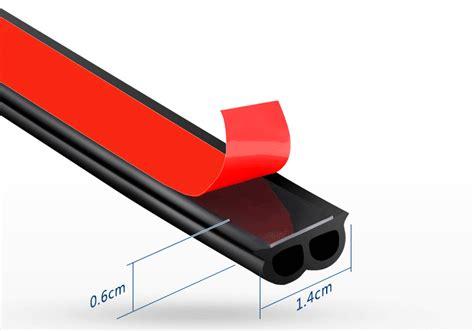 Self Adhesive Car Body Rubber Seal Strip Rubber Car Door