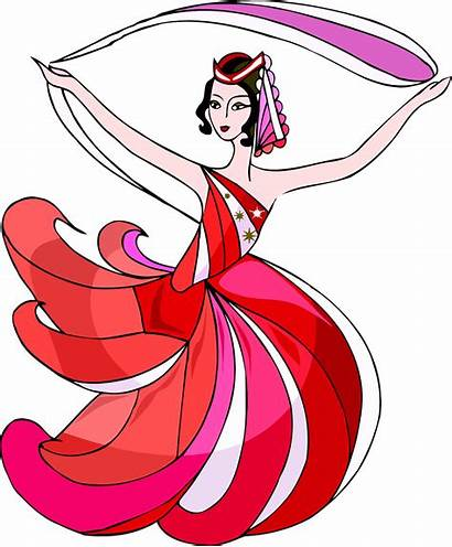 Dancer Belly Saturday Night Every Clipart Danseuse