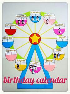 Birthday Charts For Classroom Decoration - Charts