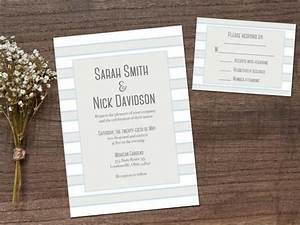 Wedding invitations printable wedding invitations for Digital wedding invitations with rsvp