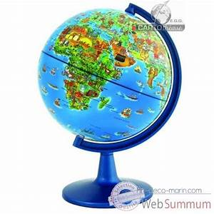 Globe Terrestre Enfant : globe dinoz 15 cm monde enfant livret cartoth que egg de d coration marine ~ Teatrodelosmanantiales.com Idées de Décoration
