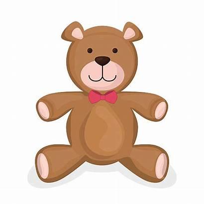 Teddy Bear Stuffed Toy Vector Toys Illustrations