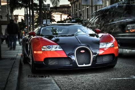 Bugatti Veyron @ Rodeo Drive, Bugatti Veyron, California