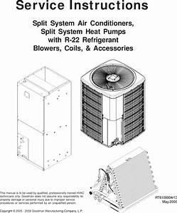 Goodman Mfg Rt6100004r13 Users Manual