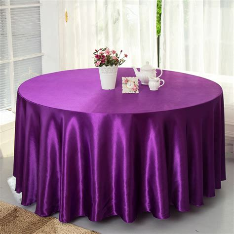table cloth decoration satin table cover wedding decorative table cloth for