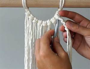 Macrame  How To Start Your Work Using Berry Knots  Semi