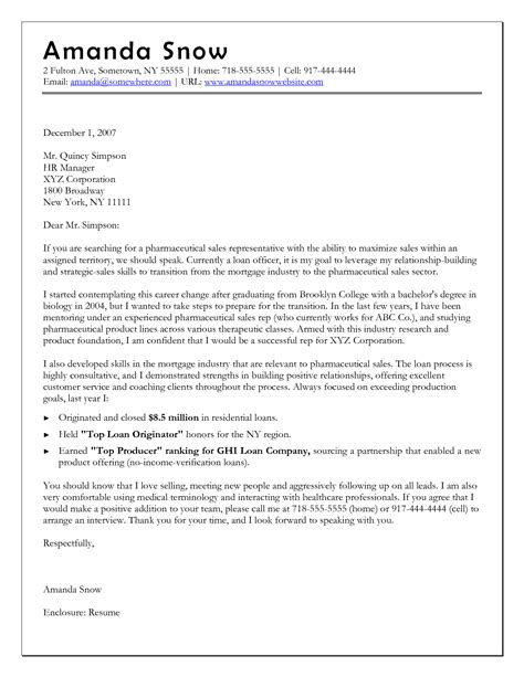 Cover Letter Changing Career Path Exles by Career Change Cover Letter Gplusnick