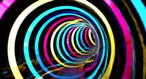 This water slide is a tunnel of LED rainbow effects | The ...