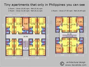 Philippines, Tiny, Apartments