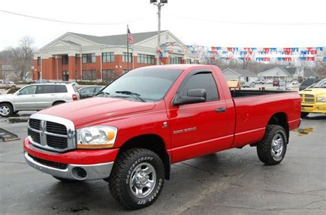 2 door trucks for purchase used 2006 dodge ram 2500 slt standard cab