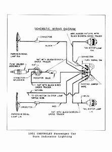 1954 Chevrolet Wiring Diagram For Car  1954  Free Engine