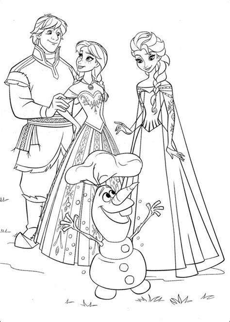 frozen coloring pages squid army