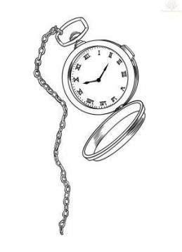 Tattoo Rose Clock Alice In Wonderland 67 Best Ideas #tattoo in 2019   Watch tattoos, Pocket