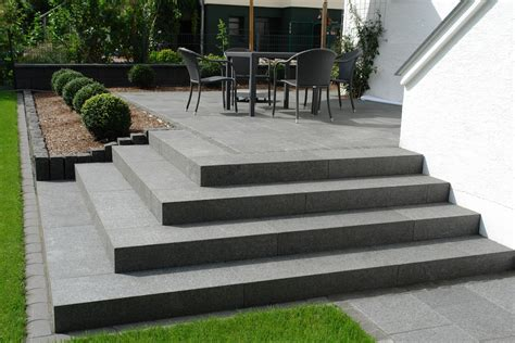 Treppe Für Terrasse by Bethlehem Gartenbau Naturstein Treppen Und Platten Home