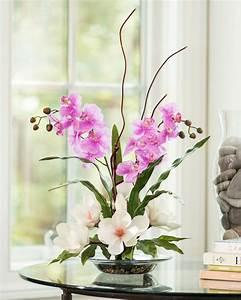 Magnolias & Orc... Silk Flowers