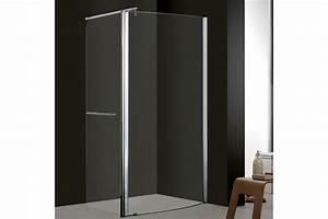 douche italienne avec cloison top coin douche duune suite With porte de douche coulissante avec salle de bain en bois massif