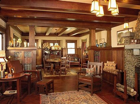 Craftsman style homes ? exclusive interiors with a lot of