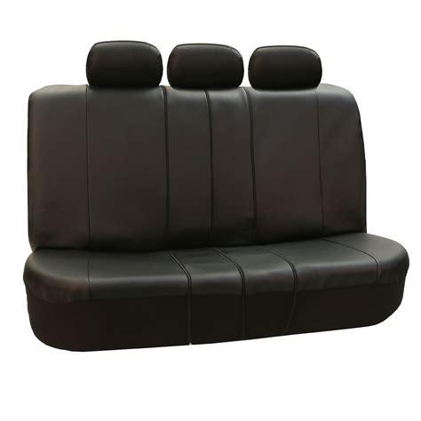 Premium Leatherette Split Bench Seat Covers Ebay
