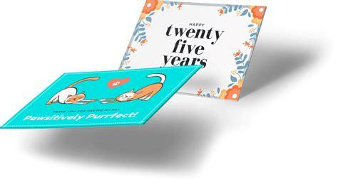 desain  cetak kartu ucapan  canva