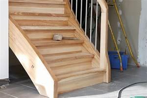 Renovation D Escalier En Bois : r nover un escalier en bois ~ Premium-room.com Idées de Décoration