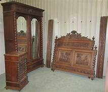 French Bedroom Sets by French Carved Oak Bedroom Set Antiques Atlas