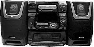 Panasonic Sa-ak5 - Manual - Cd Stereo System