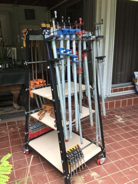 rockler pack rack clamp tool storage system tool