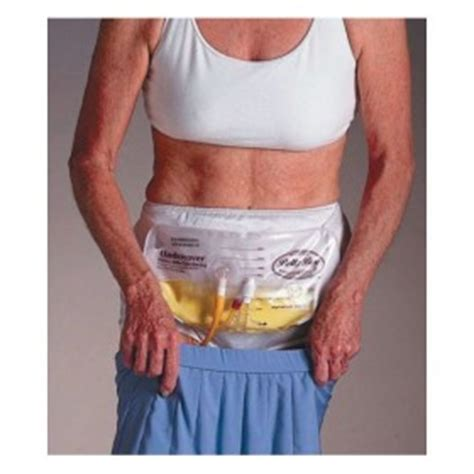 urinary drainage belly bag ml medical mart