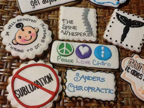 chiropractic cookies chiropractic pinterest