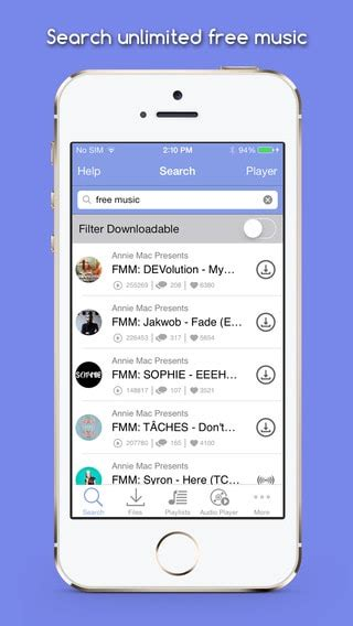 free music on iphone mp3 music downloader free for iphone download Free