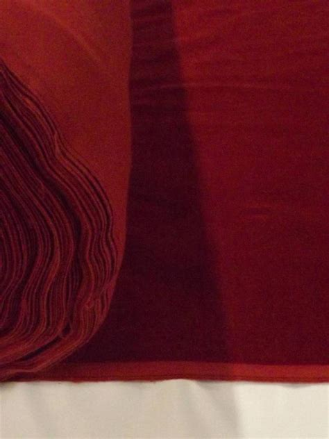Velour Upholstery Fabric by Burgundy Cotton Velvet Velour Fabric Upholstery Drapery
