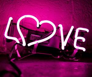 Image Gallery neon love sign