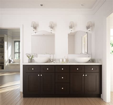 Coline Cabinets Coco Shaker by Chocolate Shaker Ready To Assemble Bathroom