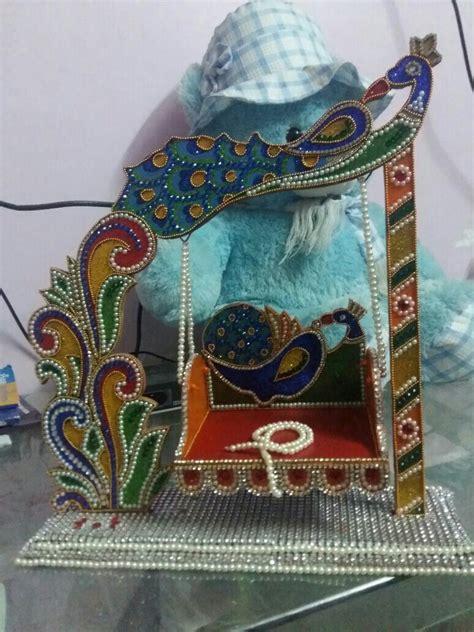 krishna jhula jhoolas  bajots ganapati decoration
