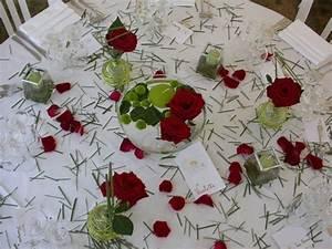 Idee Deco Pour Mariage : exemple deco table mariage le mariage ~ Teatrodelosmanantiales.com Idées de Décoration