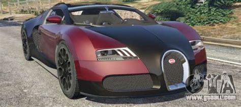 bugatti veyron grand sport   gta