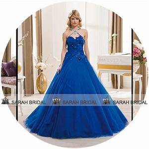 Popular Royal Blue Wedding Gowns-Buy Cheap Royal Blue ...