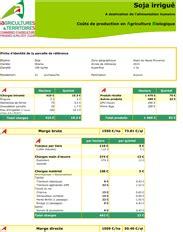 Chambre Regionale D Agriculture Paca Co 251 T De Production Soja Irrigu 233 Alimentation Humaine En