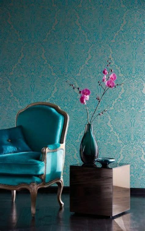 papier peint chambre moderne 50 photos avec des idées pour poser du papier peint intissé