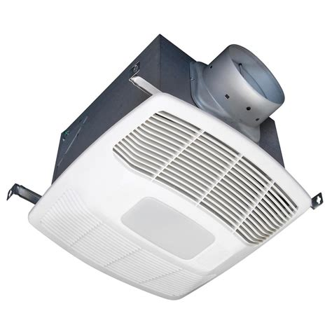 Home Depot Bathroom Exhaust Fan by Air King Eco White 130 Cfm Humidity Sensing Bathroom